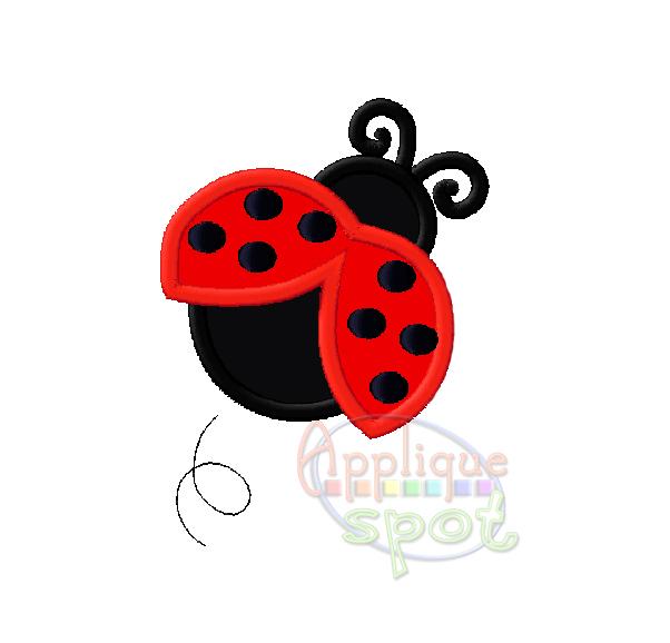 ladybug  u2013 applique spot